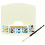 Aquarelle Van Gogh pocket box 12 demi-godets - Van Gogh
