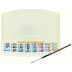 Aquarelle Van Gogh pocket box 24 demi-godets - Van Gogh