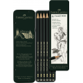 Crayon Graphite Castell 9000 Etui 6 - Faber-Castell