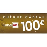 Bon cadeau de 100 euros - Label Art