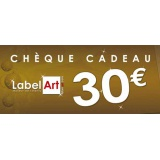 Bon cadeau de 30 euros - Label Art