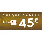 Bon cadeau de 45 euros - Label Art