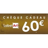 Bon cadeau de 60 euros - Label Art