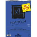 Album XL Mix Media A4 300G 30F dont 5 offertes - Canson