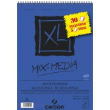 Album XL Mix Media A3 300G 30F dont 5 offertes - Canson