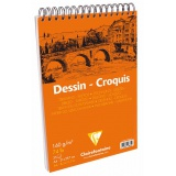 Bloc croquis clairefontaine 160g - A4 - 35F - Clairefontaine