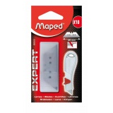 Lames cutter expert trapezoid x 10 Maped - Maped