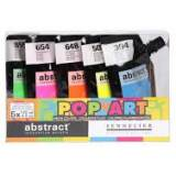Coffret peinture acrylique Pop Art Sennelier Abstract - 5 tubes 120 ml