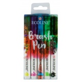 Ecoline Brushpen Set 5 - Royal Talens