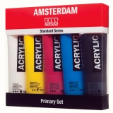 Set acrylique Amsterdam 5X120 ml - Amsterdam